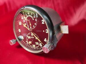 Soviet Military Aviation Clock from MIG-29 SU USSR  AChS-1 Vintage Stopwatch