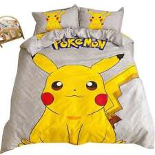 Pokemon Pikachu Single Bed Quilt Cover Set
