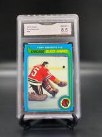 1979 Topps #80 Tony Esposito Blackhawks GMA Graded 8.5 NM-Mint +
