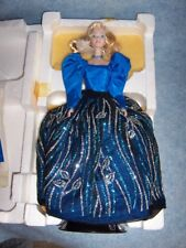 Barbie Porcelain- Blue Rhapsody 1986, First in a Series, LE