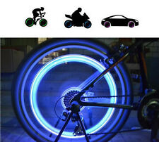 Neon Led New Flash Light Lamp Bike Car Motorcycle Wheel Tire Tyre ValveCap Spoke