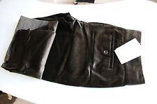 BNWT Nicole Farhi Brown Velvet Trousers 12 Medium RRP175