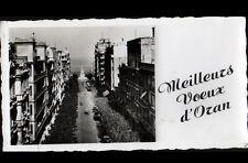 ORAN / MEILLEURS VOEUX (ALGERIE) RESIDENCES & MONUMENT en 1955
