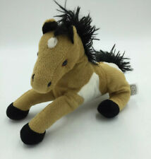 Fiesta Brown White Horse Palomino Pony Plush Stuffed Animal P