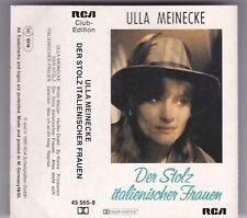 ULLA MEINECKE-DER STOLZ ITALIENISCHER FRAUEN-MC CLUB EDITION-AUDIO KASSETTE TAPE