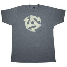 Gretsch 45Rpm Tee Shirt Heathered Charcoal Large 922-4576-606