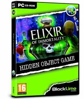 * PC NEW SEALED Game * ELIXIR OF IMMORTALITY * Hidden Object Game