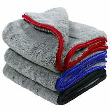 3Pcs Car Cleaning Cloths Towels, 1200gsm Ultra-Thick Car Drying Towel 42*48cm