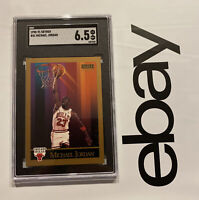 Michael Jordan SGC 6.5 SkyBox Collector Card LAST DANCE Man Cave Fight Inflation