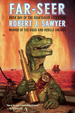 FAR-SEER Robert J. Sawyer signed dinosaur novel