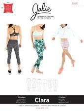 Jalie Clara Running Tights or Shorts High Waist Leggings Sewing Pattern 3887