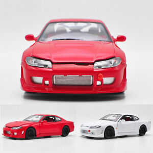 1:24 Classic Nissan Silvia S-15 1999 Model Car Diecast Vehicle Gift Collection