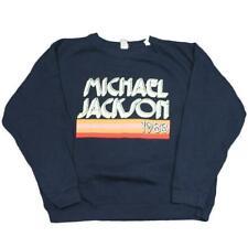 Junk Food Michael Jackson 1983 Blue Sweatshirt - Medium [M]