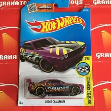 Dodge Challenger #178 Purple Hot Wheels 2016 Hot Wheels Case E