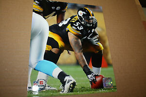PITTSBURGH STEELERS MAURKICE POUNCEY UNSIGNED 8X10 PHOTO POSE 1