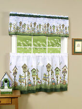 Home Sweet Home Complete 3 Pc. Kitchen Curtain Set - Assorted Sizes