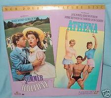 LD laserdisc SUMMER HOLIDAY/ATHENA Musicals