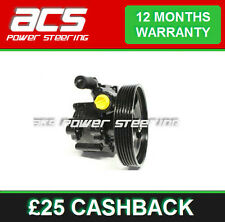 VAUXHALL SIGNUM POWER STEERING PUMP 2.8 24v 2005 TO 2007 - RECONDITIONED