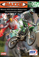 Maxxis ACU British Motocross Championship - Official review 2007 (New DVD) MX
