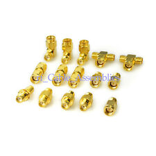 Sma Adapter Kit Sma Male Female WiFi Antenna Extension Connector Pack of 15 pcs