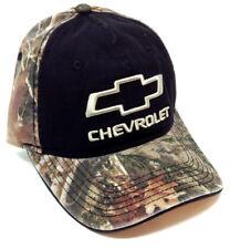 5266b7f41d8 CHEVROLET BOW TIE LOGO TRUETIMBER CAMO ADJUSTABLE HAT CAP CURVED BILL CHEVY  NWT