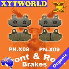 Front Rear Brake Pads for HYOSUNG Comet 125/250 2004