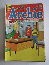 LOT OF 9 ARCHIE COMICS - SILVER AGE - .12 CENT COMICS - SEE PICS -LOT 1 -TUB CCB