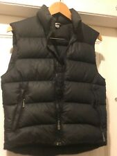 Mountain Equipment Co-Op MEC Black Down Puffer Vest Sz M Ladies
