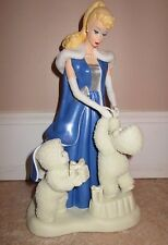 "DEPARTMENT 56 SNOWBABIES GUEST BARBIE ""UNDER THE MIDNIGHT MOON"" 69903 pre-owned"