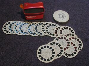 Vintage Viewmaster Viewer and Reels