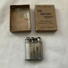 VINTAGE THE BEDFORD BIJOUX LIFT ARM LIGHTER NEEDS ATTENTION BOXED