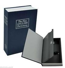 LARGE ENGLISH DICTIONARY SECRET BOOK KEY SAFE BOOKSAFE CASH BOX JEWELLERY LOCK