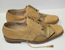 Giorgio Brutini Mens 10M Genuine Snake Skin Leather Shoes Man Made Materials