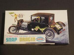 Aurora '27 Snap Dragin 603-50 1/32 Scale Plastic Model Kit Complete In Box