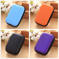 Portable EVA Carrying Storage Bag Pouch Case for Earphone Cable TF Card MP3 MP4