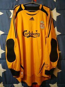 SIZE XXL Liverpool 2006-2007 Goalkeeper Football Shirt Jersey