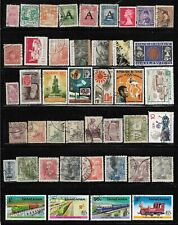 Worldwide Off Paper Packet Lot of 43 all different Stamps World Collection used