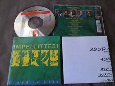 IMPELLITTERI / stand in line /JAPAN LTD CD