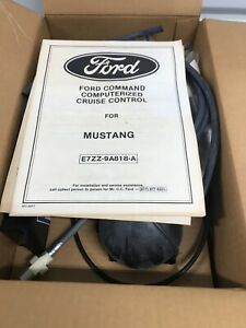 NOS FORD Mustang CRUISE CONTROL KIT E7ZZ-9A818-A - Command Computerized Cruise