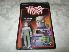 Super7 ReAction The Worst Gas Phantom Gray Grey Glow in the Dark GID 3 3/4""