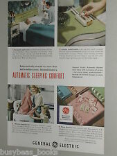 1948 General Electric ad, Electric Blanket wringer wash