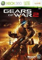 USED Xbox 360 Gears of War 2 Normal Edition 05862 JAPAN IMPORT