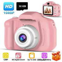 1080P Mini Digital Camera Camcorder Video Cam Recorder Kids Gift + 32G TF Card
