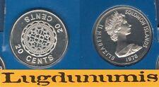 Solomon Islands Iles Salomon - 20 Cents 1978 Malaita PROOF UNC FDC 5 122 ex