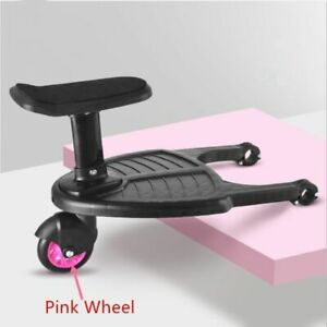 Children Stroller Pedal Adapter Second Child Kids Standing Plate With Seat