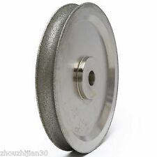 """6"""" inch Lapidary Spherical 18mm Concave Arc Diamond Coated Grinding Wheel Gems"""