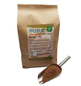 FoodPURA 2KG Brewers Yeast Powder Pony, Horse, Equine Fishing Bait, Human Health