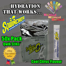 Sqwincher 20oz Qwik STIKS 100 Pack of 10 Ass Flavours