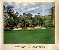 2010 Masters poster augusta national golf phil mickelson wins new pga