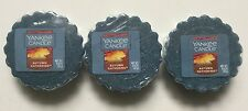 YANKEE CANDLE AUTUMN GATHERING LOT OF 3 TARTS WAX MELTS HTF SCENT RETIRED